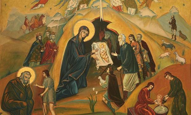 Mersul cu icoana Naşterii Domnului